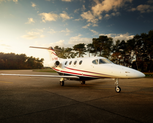 Beechcraft Premier 1a Exxaero Private Jet Aircraft for six persons